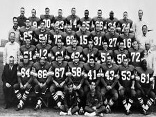 1966 Saskatchewan Roughriders Grey Cup Team Photo 8 X 10 Black & White