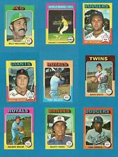 1975 Topps Mini Baseball U Pick (331 to 660) (1)