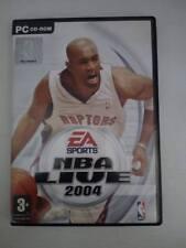 Gioco PC NBA Live 2004 videogiochi basket vintage EAsports CD-ROM