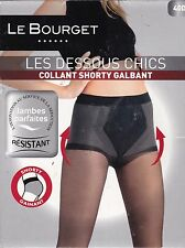 LE BOURGET -  COLLANT SHORTY GALBANT / GAINANT - 40 DEN - NOIR - T.1