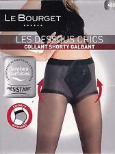 LE BOURGET -  COLLANT SHORTY GALBANT / GAINANT - 40 DEN - NOIR - T.1