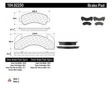Disc Brake Pad Set-Posi-Quiet Metallic Disc Brake Pad with Shims Front,Rear