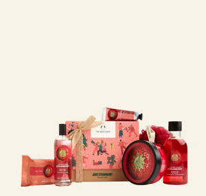 The Body Shop Juicy Strawberry Big Gift Box RRP £35.00 NOW £24.50