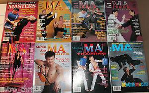 8 x MMA Magazines Martial Arts Training Bruce Lee Jun Fan Choy Li Fut