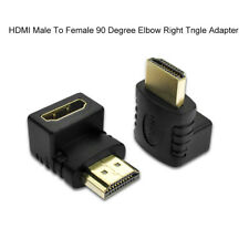 BG_ CW_ FT- AU_ HDMI 90 Degree L Shaped Connector Cable Male to Female Adaptor R