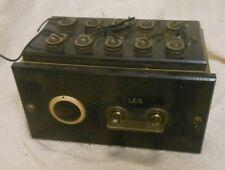 Antique Telegraph W.U. Tel. Co., Line Control Switch