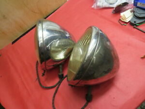 1934 Ford used original headlamps No Reserve flathead
