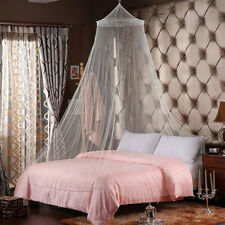 Elegant Round Lace Insect Bed Canopy Netting Curtain Dome Mosquito Net Usa E1