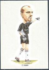 LIVERPOOL FOOTBALL CARDS-2002- #07-JERZY (REVERSE SPELT INCORRECTLY-JUREK) DUDEK