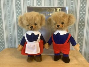 "Merrythought Boxed Pair Cheeky Mr & Mrs Twisty 9"" Limited Edition 500"