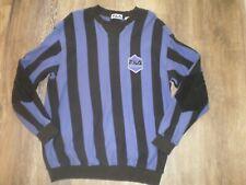 Mens Fila Soccer Shirt Size L Euc Long Sleeve, Striped, Cotton, Calcio Italia
