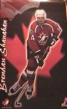 SPORT SPOSTER~Brendan Shanahan Team Canada 1998 Nagano Olympics Detroit Red Wing