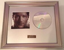 PERSONALLY SIGNED/AUTOGRAPHED MATT CARDLE - PORCELAIN CD -  FRAMED PRESENTATION.