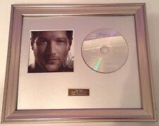 PERSONALLY SIGNED/AUTOGRAPHED MATT CARDLE - PORCELAIN CD -  FRAMED PRESENTATION.