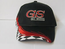 GS BY BUICK  EMBROIDERED GM LICENSED CHECKERED HATS