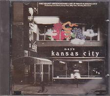 THE VELVET UNDERGROUND - live at max's kansas city CD