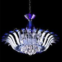 Lustre boule en verre cristal lampe pendentif espaceur lâche perle clair 0G