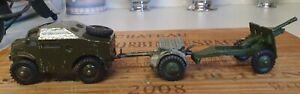 Dinky Field Artillery Tractor, Limber & 25 Pounder Gun