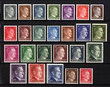 6036A-GERMAN EMPIRE-1941-45.WWII.Adolf HITLER.Mich 781-798 MNH** Deutsches Reich