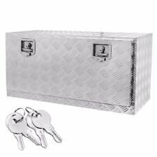 36 Aluminum Truck Underbody Tool Box Trailer Rv Tool Storage Under Bed With Lock