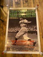 Movie Poster Original The Life And Times Of Hank Greenberg Jewish Baseball Hero
