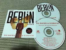 IVA DAVIES & ICEHOUSE CD BERLIN TAPES + BONUS CD MASSIVE 96 BOWIE CURE LOU REED