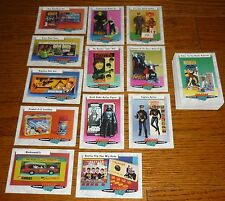 Complete SET Classic Toys Trading Cards, Frankenstein, Aurora Model Kits +