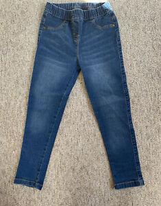 Girls Nutmeg Jeggings Leggings Jeans 5 6 5-6 Years Never Worn Just Tried On Once