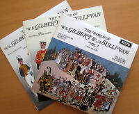 The World Of Gilbert & Sullivan Vol. 1 2 & 3 NEAR MINT 3xLP Decca SPA 28 29 147