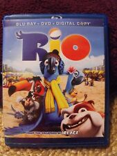 Rio Blu-Ray ~ DVD ~ Digital Copy 3 DISC Set 20th Century Fox