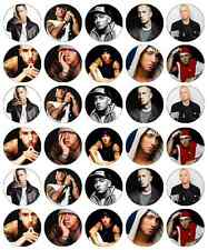 Eminem Music Cupcake Toppers Edible Wafer Paper BUY 2 GET 3RD FREE!