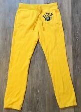 Abercrombie & Fitch Men's Classic Yellow Sweatpants Size Medium NWT NEW