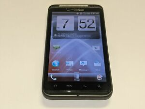 HTC ThunderBolt ADR6400L 4G LTE Verizon Wireless 4GB Black Smartphone/Cell Phone
