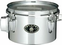 """Tama Steel Mini Timbales Snare 8 """"X5"""" STS085M From Japan"""