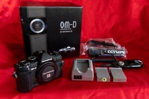 Olympus OM-D E-M5 Mark III, Body, schwarz