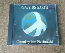 Country Joe McDonald  - Peace On Earth 1984 Rag Baby Records No Barcode WGermany