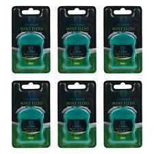 6 Pack dentAdvance Dental Floss Waxed Fresh Mint 180 count-6 packs of 40m rolls