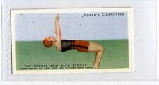 (Ja1955-100) Ogdens,How To Swim,Double Arm Back Stroke Inter-Timing 2nd ,1935#38