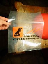 Ancien Sac Plastique au Lion Pieces d'Origine CYCLE PEUGEOT Vélo