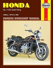 1979-1981 Honda Goldwing Gold Wing GL1100 GL 1100 HAYNES REPAIR MANUAL 669