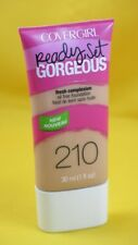 New COVERGIRL Ready, Set Gorgeous Oil Free Foundation-210 Medium Beige