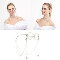 Eye Glasses Sunglasses Spectacles Eyewear Chain Holder Cord Lanyard Pearl LY