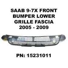 SAAB 9-7X Front Bumper Lower Grille Fascia NEW GENUINE 05-09 97x OEM - 15231011