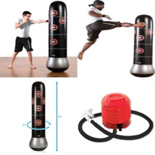Inflatable Mma Target Bag Kids Martial Arts Kickboxing Boxing Training Practice