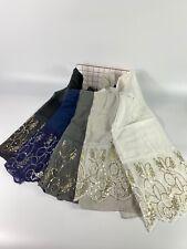 Plain Pearl Lace Sparkle Scarf Hijab Sarong Large Cotton Maxi Shawl Wrap Maxi