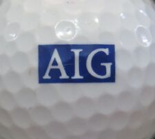(1) Aig American General Insurance Logo Golf Ball