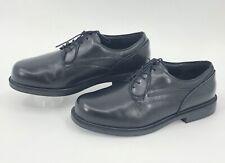 Dunham Burlington Black Leather Waterproof Oxfords MCT410BK Men's Size 11.5 6E