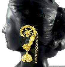 Kaan Jhumka Jhumki Earrings set Gold Plated Beautiful Ethnic Fashon Jewellery