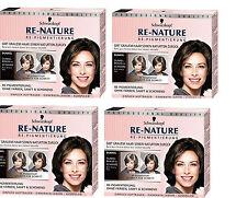 Schwarzkopf Re-Nature Re-Pigmentierung Women Dunkebraun bis Schwarz 4x150ml
