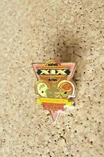 SB Super Bowl XIX 19 Champions 49ers Miami Dolphins v SF San Francisco small pin
